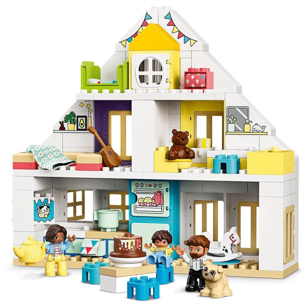 LEGO® Konstruktionsspielsteine »Unser Wohnhaus (10929), LEGO® DUPLO® Town«, (129 St.), Made in Europe