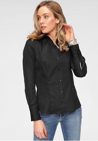 seidensticker Klassische Bluse, mit extrabreiten Manschetten kaufen