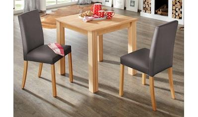 Home affaire Esstisch »Luisa«, aus massivem Buchenholz, in 4 Tischbreiten erhältlich kaufen
