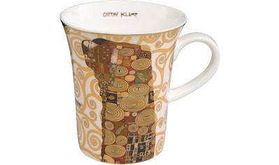 Goebel Becher »Die Erfüllung«, von Gustav Klimt, bunt kaufen