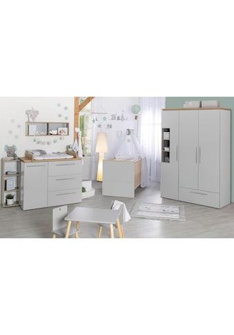 roba® Babyzimmer-Komplettset »Tobi«, (Set, 3 St.), mit Kinderbett, Schrank und... kaufen