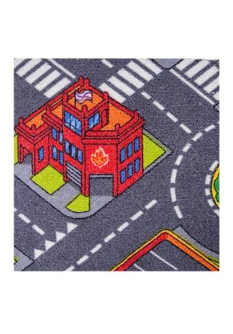 Andiamo Kinderteppich »City«, rechteckig, 6,5 mm Höhe, Wunschmaß kaufen