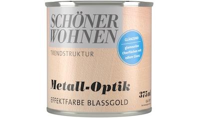 SCHÖNER WOHNEN-Kollektion Wand- und Deckenfarbe »Trendstruktur Metall-Optik« kaufen