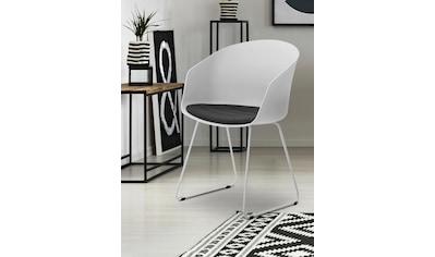andas Schalenstuhl »Mara«, 2er Set, in verschiedenen Farbvarianten, Sitzhöhe 47 cm kaufen