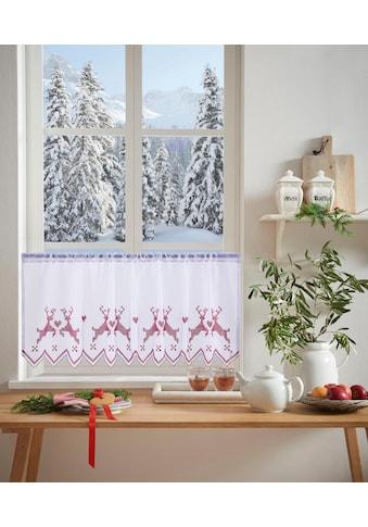 my home Scheibengardine »Hirsch« kaufen