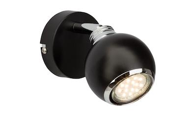Brilliant Leuchten Wandstrahler, GU10, Warmweiß, Ina LED Wandspot schwarz/chrom kaufen