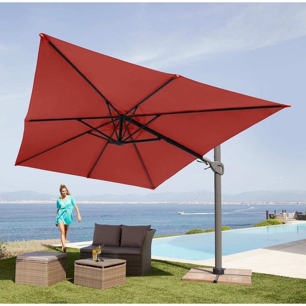 garten gut Sonnenschirm »Big Roma«, ohne Schirmständer, neigbar