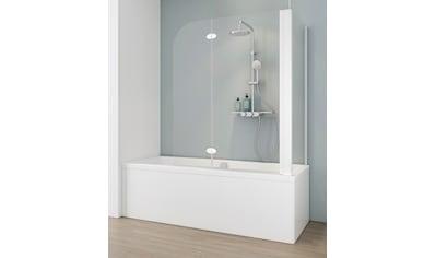 SCHULTE Badewannenfaltwand 2 - tlg., teilgerahmt, BxTxH: 114,6 x 70 x 140 cm kaufen