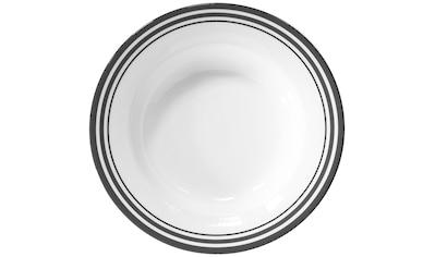 Fink Pastateller »Moments«, (Set, 4 St.), Ø 30 cm, Porzellan mit 3 Streifen kaufen