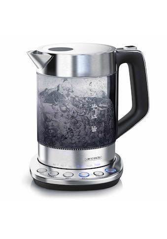 Arendo Wasserkocher »4 Temperaturstufen - 2200 Watt«, 1.5 l, 2200 W, 1,5 Liter mit... kaufen