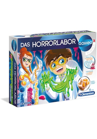 Clementoni® Experimentierkasten »Galileo - Das Horrorlabor«, Made in Europe kaufen