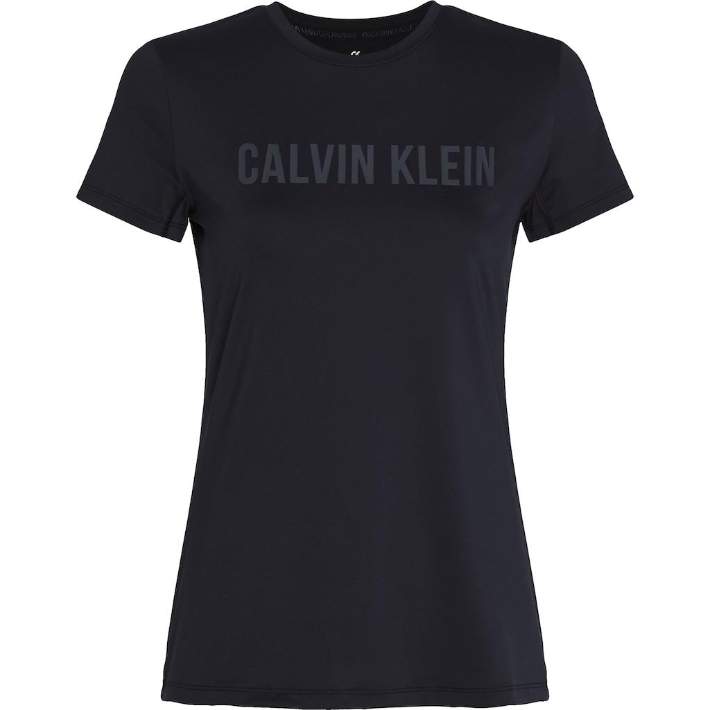 Calvin Klein Performance Rundhalsshirt »S/S T-SHIRTS«, mit Calvin Klein Logo-Schriftzug auf der Brust