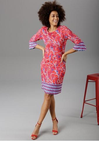 Aniston SELECTED Sommerkleid, mit Trompetenärmeln kaufen
