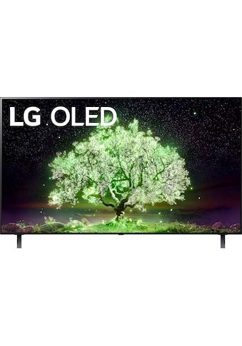 """LG OLED-Fernseher »OLED55A19LA«, 139 cm/55 """", 4K Ultra HD, Smart-TV, (bis zu 60Hz)-α7... kaufen"""