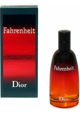 Dior Eau de Toilette »Fahrenheit« kaufen
