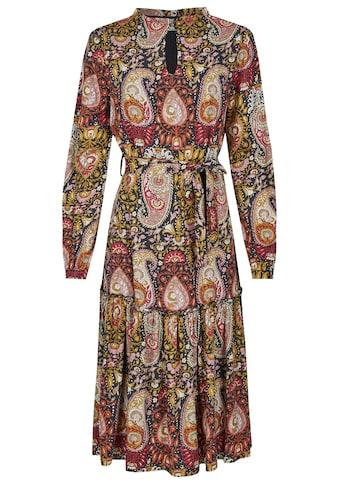Nicowa Knielanges Kleid mit Paisley-Muster - NICELO kaufen
