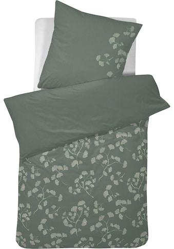 Cinderella Wendebettwäsche »Viridi«, mit Gingkoblättern kaufen