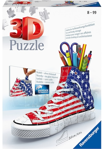 Ravensburger 3D-Puzzle »Sneaker«, Made in Europe, FSC® - schützt Wald - weltweit kaufen