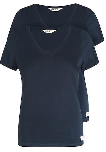 OXMO T-Shirt »Vanni«, Basic-T-Shirts im 2er Pack kaufen