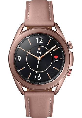 Samsung Smartwatch »Galaxy Watch3, Edelstahl, 41 mm, LTE (SM-R855)« kaufen
