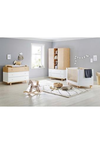Pinolino® Babyzimmer-Komplettset »Boks«, (Set, 3 St.), 2-trg. breit groß; mit... kaufen
