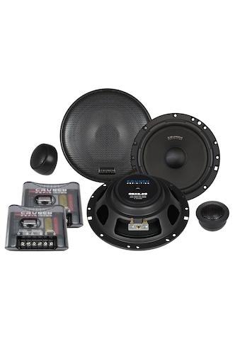 Crunch 2-Wege-Komponenten-Lautsprechersystem 16,5 cm »DSX6.2C«, (ein Set) kaufen