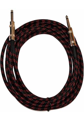 Clifton »Kabel, 5 m« Instrumentenkabel 6,35 - mm - Klinke zu kaufen