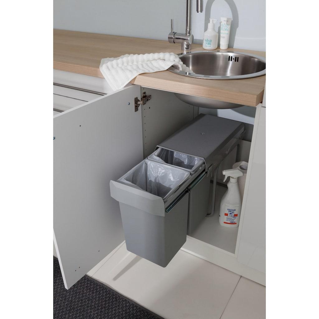 OPTIFIT Einbauwaschbecken, Rundbecken