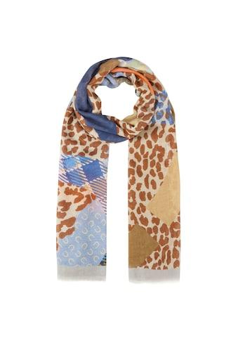 Codello XL - Schal im Multi - Mustermix aus Baumwolle und Modal kaufen