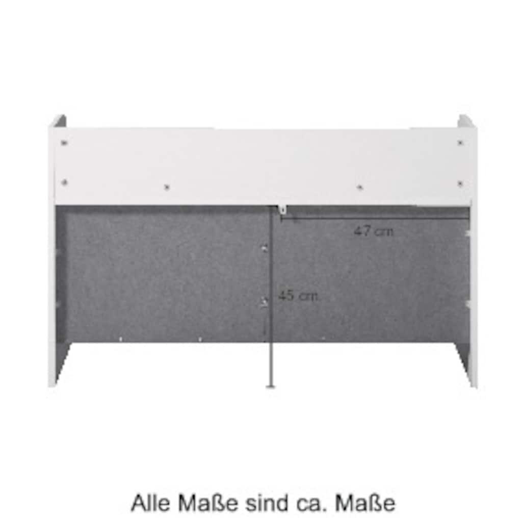 welltime Unterschrank »Utrecht«, Sideboard Kommode mit Ablage, 98,5 x 40 cm