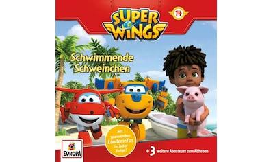 Musik-CD »014/Schwimmende Schweinchen / Super Wings« kaufen