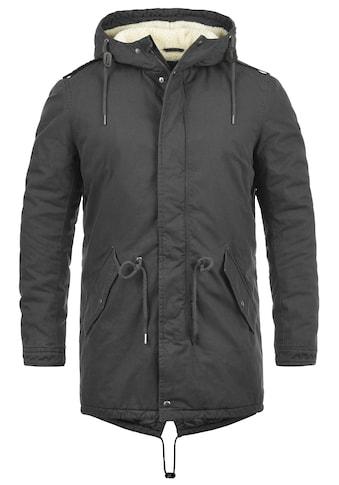 Solid Winterjacke »Darnell«, warme Jacke lang geschnitten kaufen