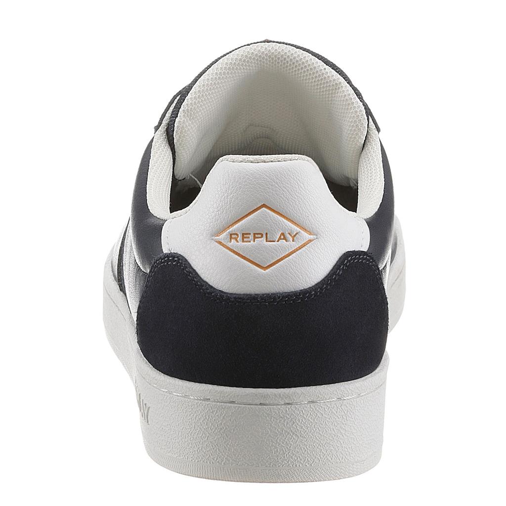 Replay Sneaker, mit weichem Schaftrand