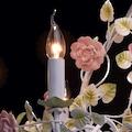MW-LIGHT Hängeleuchten »Provence«, E14, Tageslichtweiß, Pendelleuchte, Pendellampe