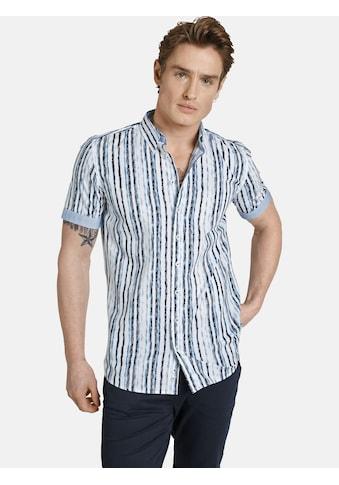 SHIRTMASTER Kurzarmhemd »bluestripes«, modernes Streifendesign kaufen