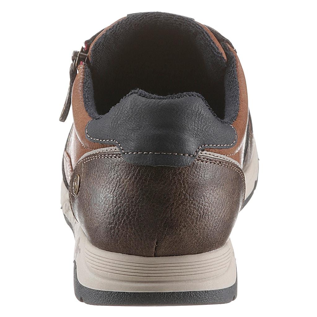 Mustang Shoes Sneaker, mit praktischem Reißverschluss