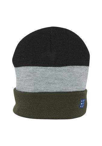 Blend Strickmütze »Earl 20713939ME«, Modische Mütze mit Blockstreifen kaufen