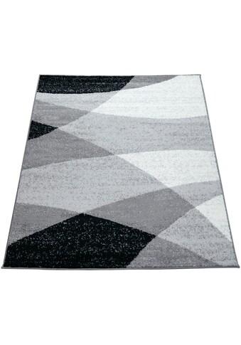 Paco Home Teppich »Fiesta 110«, rechteckig, 12 mm Höhe, Kurzflor, Designer Teppich, Wohnzimmer kaufen