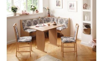 Home affaire Eckbankgruppe »Minden 2«, (Set, 4 tlg.), im rustikalen Landhausstil kaufen