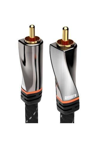 AVINITY Audio-Kabel »1 Stecker - 1 Stecker«, Cinch, 300 cm, Gewebe, vergoldet, 3 m kaufen