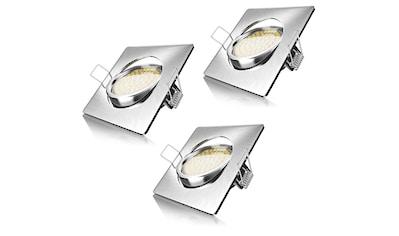 Brandson schwenkbarer LED Einbaustrahler in Edelstahl Optik »Deckenspot mit 320 Lumen / Warmweiß« kaufen