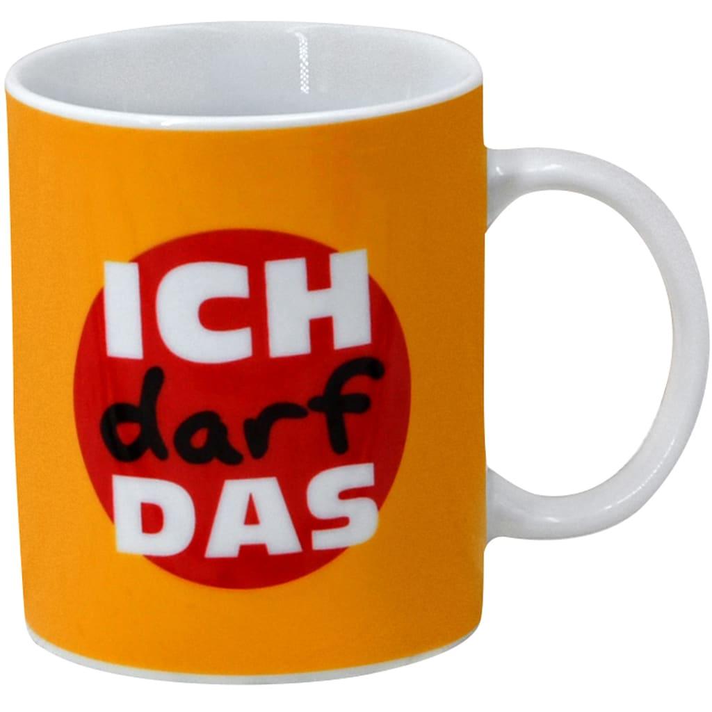 Retsch Arzberg Becher »Machosprüche«, (Set, 4 tlg.), 4-teilig