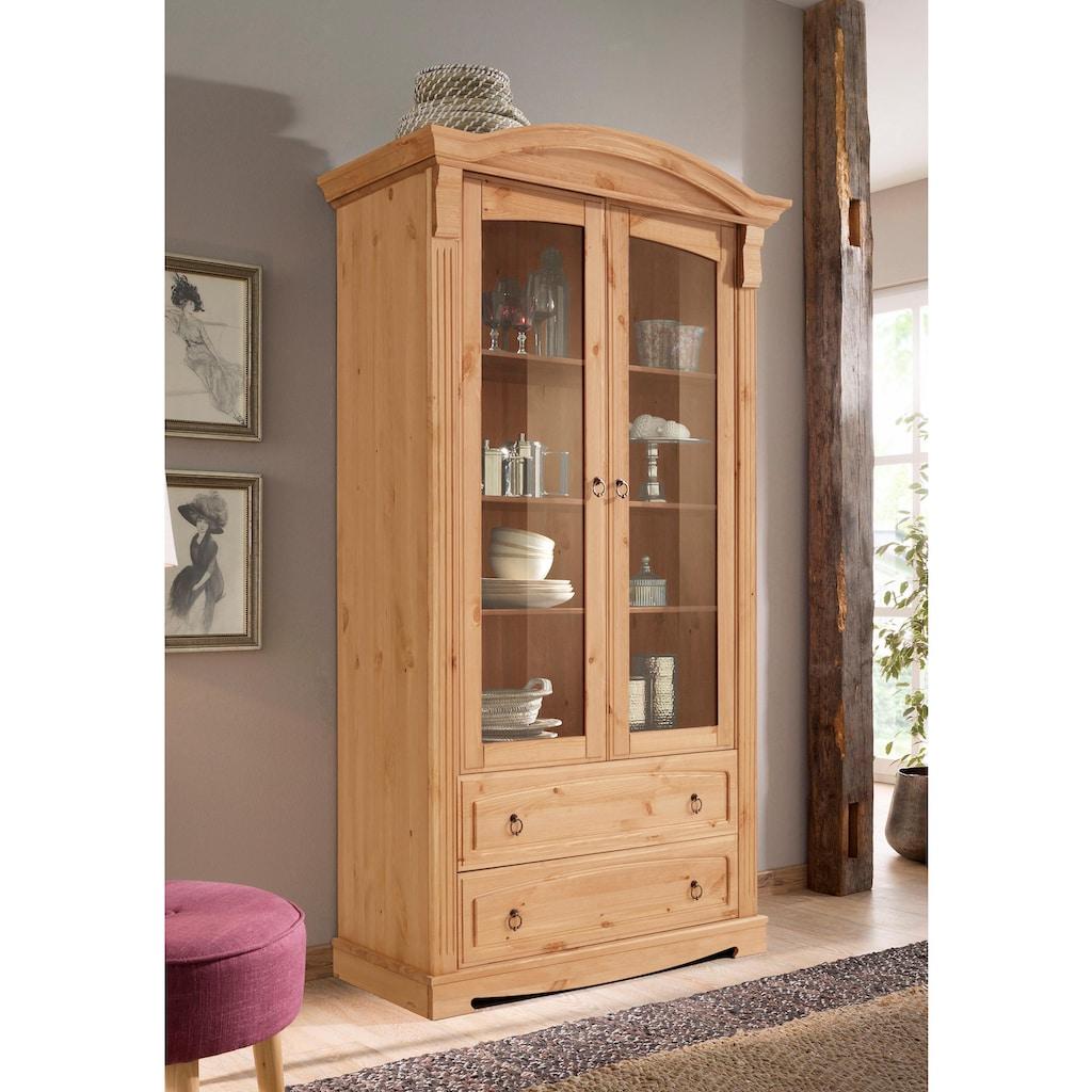 Home affaire Glasvitrine »Anna«, Höhe 187 cm