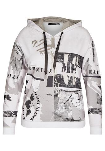 LeComte Sweatshirt, mit grafischem Muster und Glitzersteinen kaufen