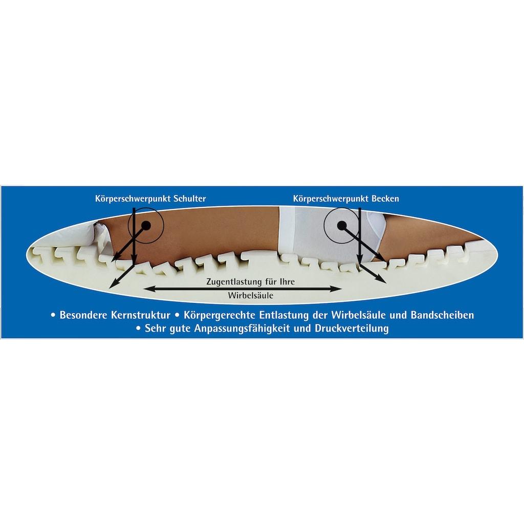 f.a.n. Schlafkomfort Kaltschaummatratze »Medisan Dream KS«, 19 cm cm hoch, Raumgewicht: 37 kg/m³, (1 St.)