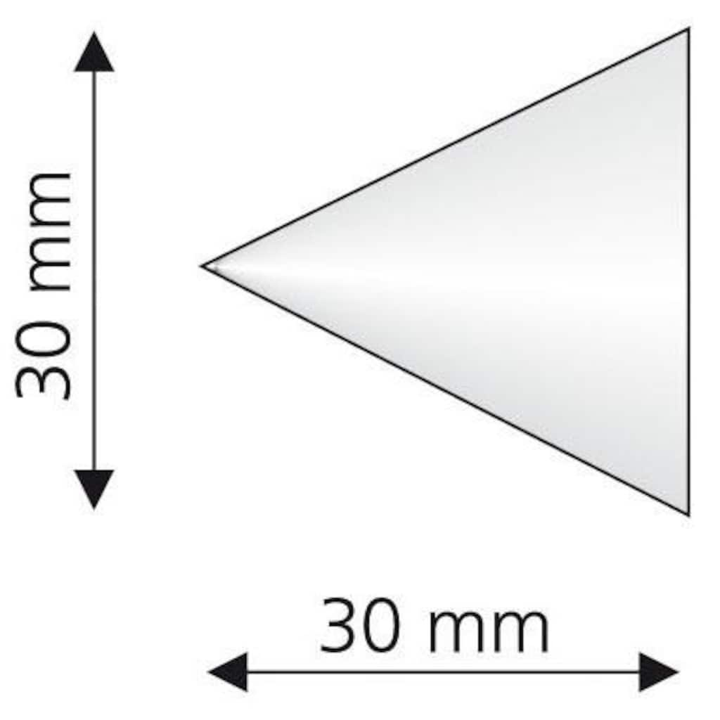 Liedeco Gardinenstangen-Endstück »Cone«, für Gardinenstangen Ø 16 mm