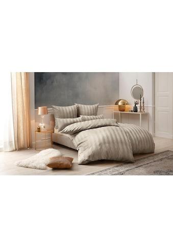 Leonique Bettwäsche »Malia«, mit eleganten Streifen kaufen
