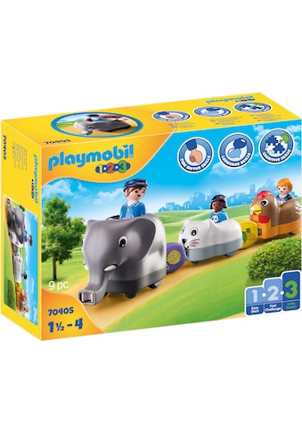 Playmobil® Konstruktions-Spielset »Mein Schiebetierzug (70405), Playmobil 1-2-3«, Made... kaufen
