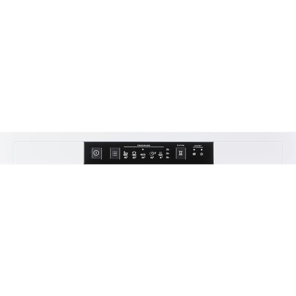 GORENJE Standgeschirrspüler »GS52040W«, GS52040W, 9 Maßgedecke