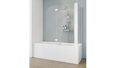 SCHULTE Badewannenfaltwand 2 - tlg., teilgerahmt, BxTxH: 114,6 x 75 x 140 cm kaufen